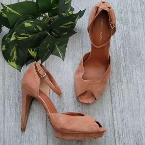Rebecca Minkoff Ivy D'orsay Peep Toe Pump Heels